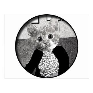 Cat Friend Postcard
