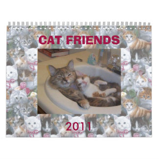 CAT FRIENDS FROM THE INTERNET CALENDAR