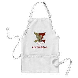 Cat From Hell Adult Apron