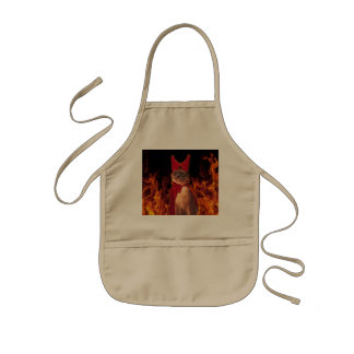 Cat From Hell Kids' Apron
