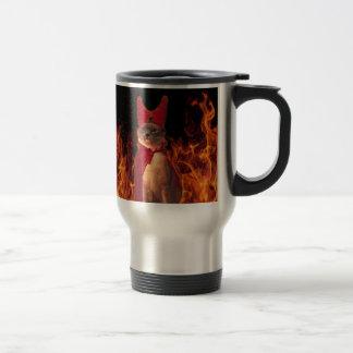 Cat From Hell Travel Mug
