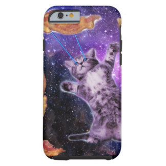 Cat Frying Bacon With Eye Laser Tough iPhone 6 Case