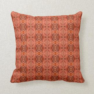 Cat fur pattern throw pillow