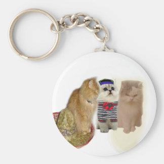 Cat Gang Keychain