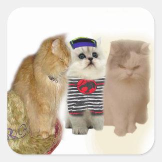 Cat Gang Sticker