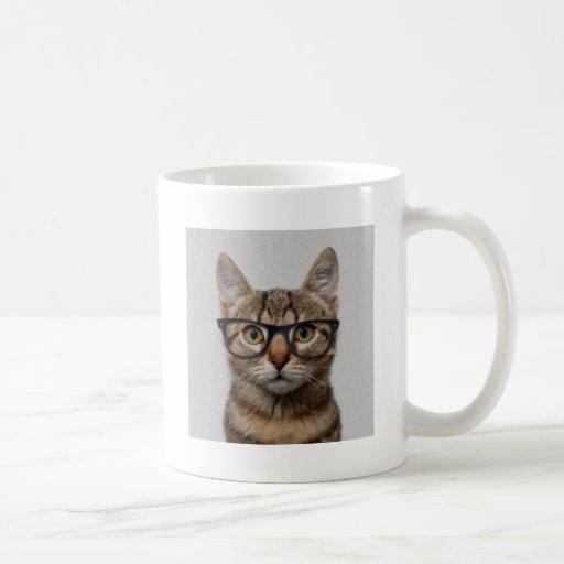 Cat geek coffee mug