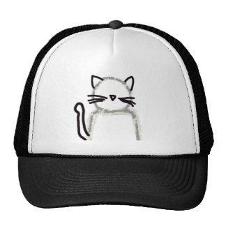 Cat Ghost Avatar Trucker Hat
