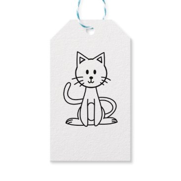 jasmineflynn Cat Gift Tags