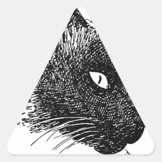 Cat Gifts.jpg Triangle Sticker