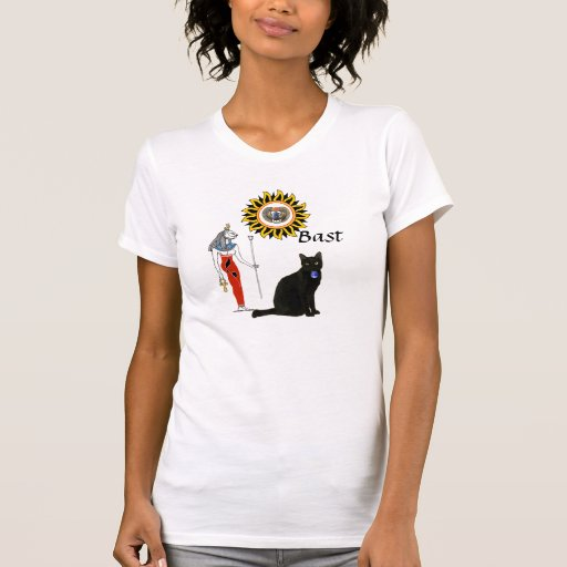 Cat Goddess Bast T Shirt