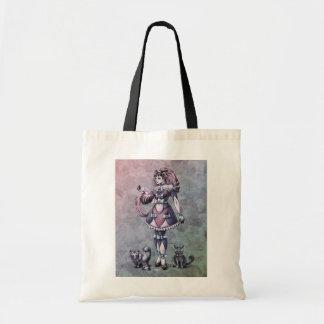 Cat Goddess Fantasy Art - Tote Bag