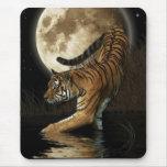 CAT GRANDE Bengala, tigre indio siberiano, MousePa Tapete De Ratón