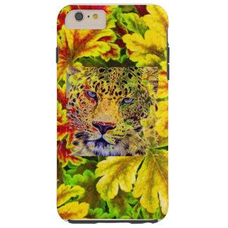 CAT GRANDE IMPONENTE DURO IPHONE6 EN EL FOLLAJE FUNDA PARA iPhone 6 PLUS TOUGH