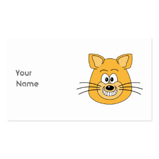 Cat Grin. Double-Sided Standard Business Cards (Pack Of 100)