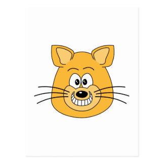 Cat Grin. Postcard