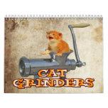 Cat Grinder Wall Calendar