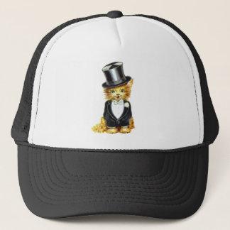 Cat Groom Trucker Hat