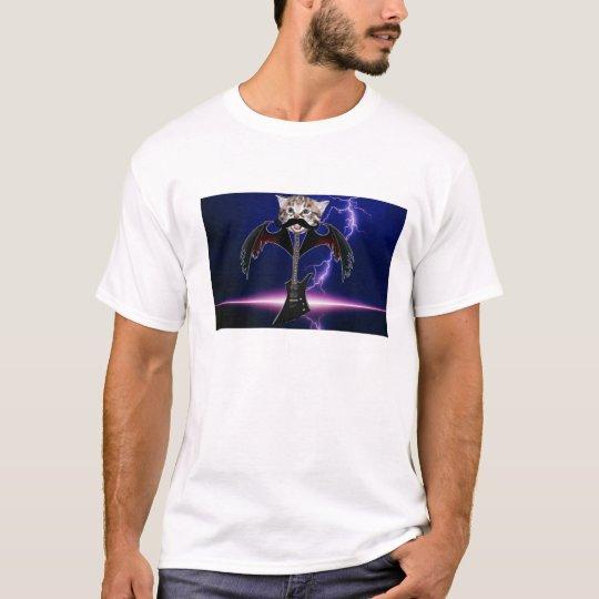 cat guitar T-Shirt