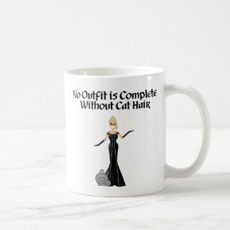 Cat Hair Classic White Coffee Mug