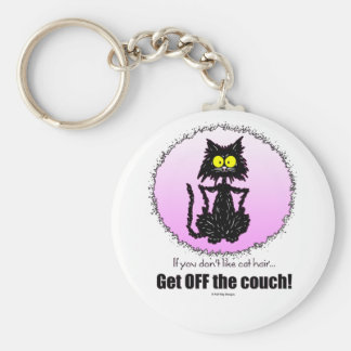 Cat Hair...Gifts for Cat Lovers Keychain