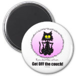 Cat Hair...Gifts for Cat Lovers Magnets