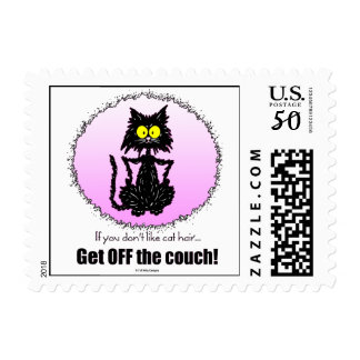Cat Hair...Gifts for Cat Lovers Postage