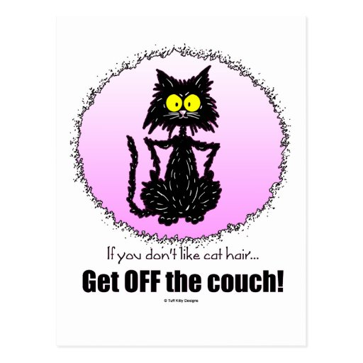 Cat Hair...Gifts for Cat Lovers Postcard