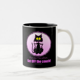Cat Hair...Gifts for Cat Lovers Two-Tone Coffee Mug