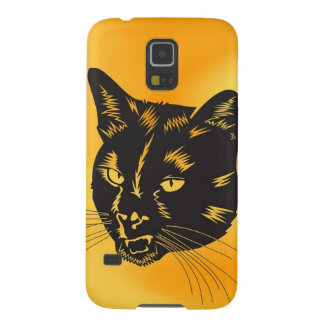 Cat Halloween Meou Whiskers hiss omen Samsung Galaxy Nexus Case