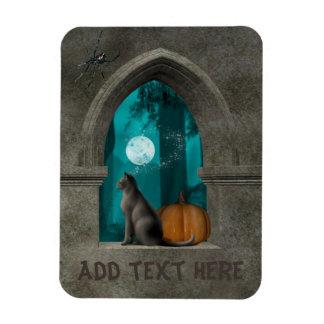 Cat Halloween window magnet
