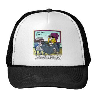 Cat Has 9 Life Insurance Plans Trucker Hat