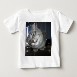Cat Has I Dont Like Water Face On, Baby T-Shirt