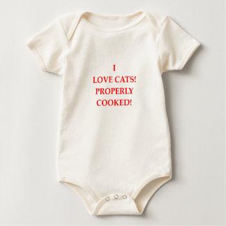 cat hater baby bodysuit