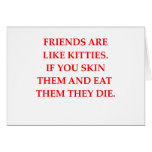 cat hater card