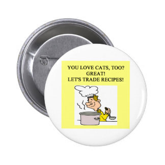 cat hater design button