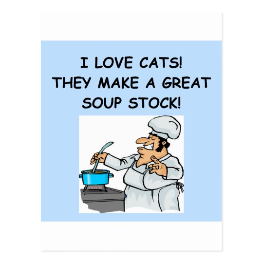 cat hater postcard