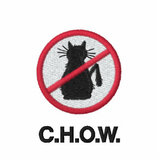 Cat Haters C.H.O.W. Logo Hooded Sweatshirt
