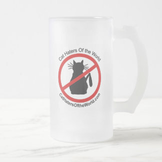 Cat Haters Frosted Mug