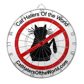 Cat Haters Logo Dartboard