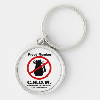 Cat Haters Logo Keychain