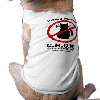 Cat Haters Logo Pet T-shirt