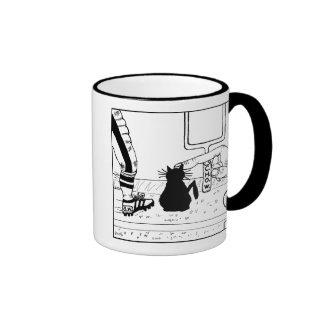 Cat haters mug - football design