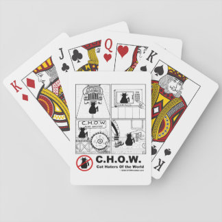 Cat Haters Of the World Playing Cards