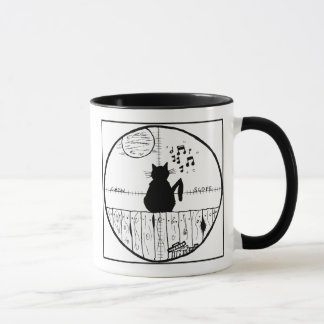 Cat Haters Scope Cartoon Mug