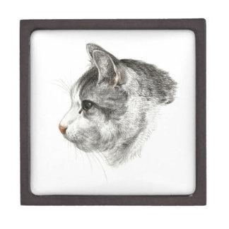 cat head gift box