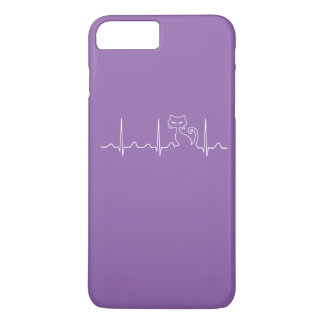 Cat Heartbeat iPhone 8 Plus/7 Plus Case