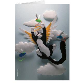 Cat Heaven Card