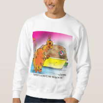 Cat Hides Easter Egg Sweatshirt