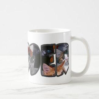 Cat Hoarder Classic White Coffee Mug