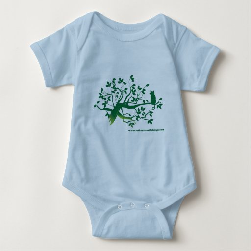 Cat House on the Kings, Cat in a Tree apparel Baby Bodysuit